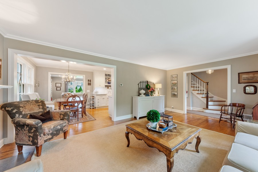 Real Estate Photography - 631 S Belmont, Arlington Heights, IL, 60005 - Living Room / Dining Room