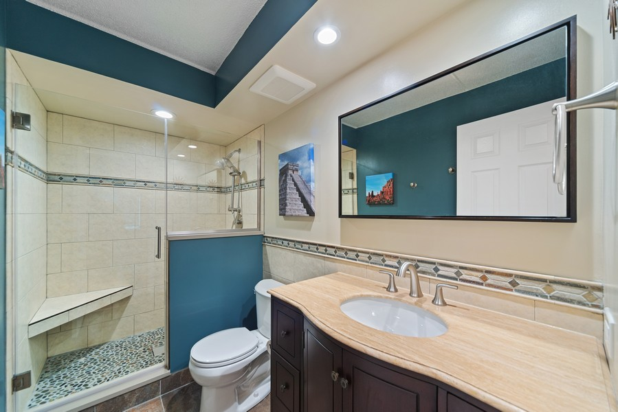 Real Estate Photography - 3940 W Bryn Mawr, #204, Chicago, IL, 60659 - Master Bathroom