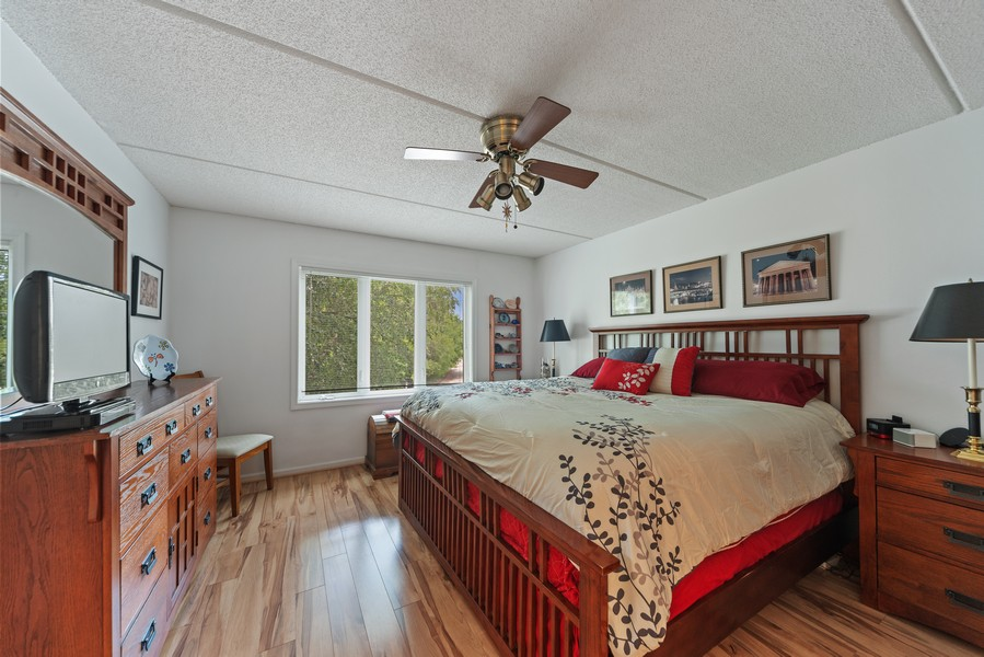 Real Estate Photography - 3940 W Bryn Mawr, #204, Chicago, IL, 60659 - Master Bedroom