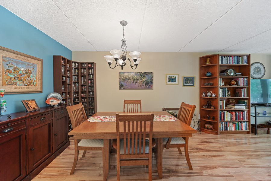 Real Estate Photography - 3940 W Bryn Mawr, #204, Chicago, IL, 60659 - Dining Room