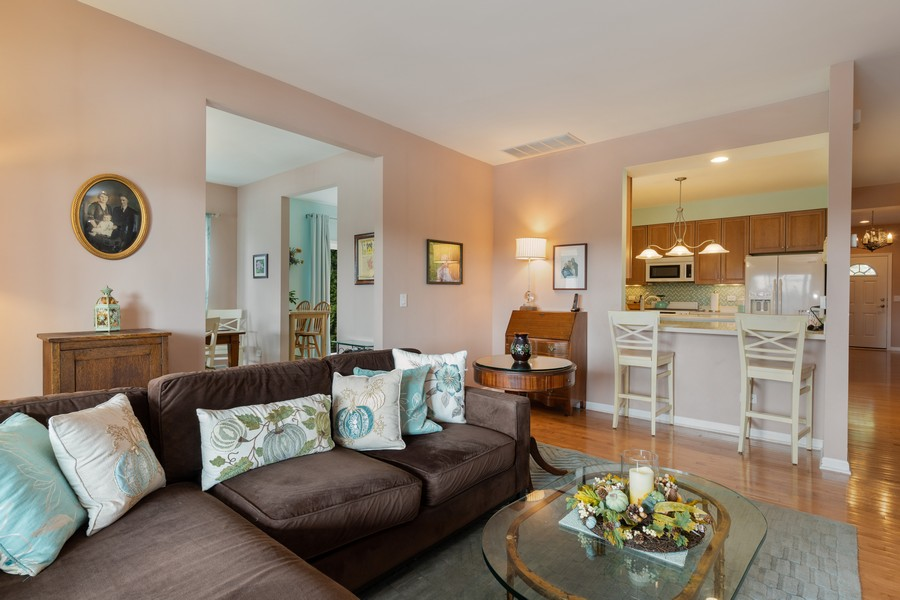 Real Estate Photography - 319 Legacy, Grayslake, IL, 60030 - Living Room