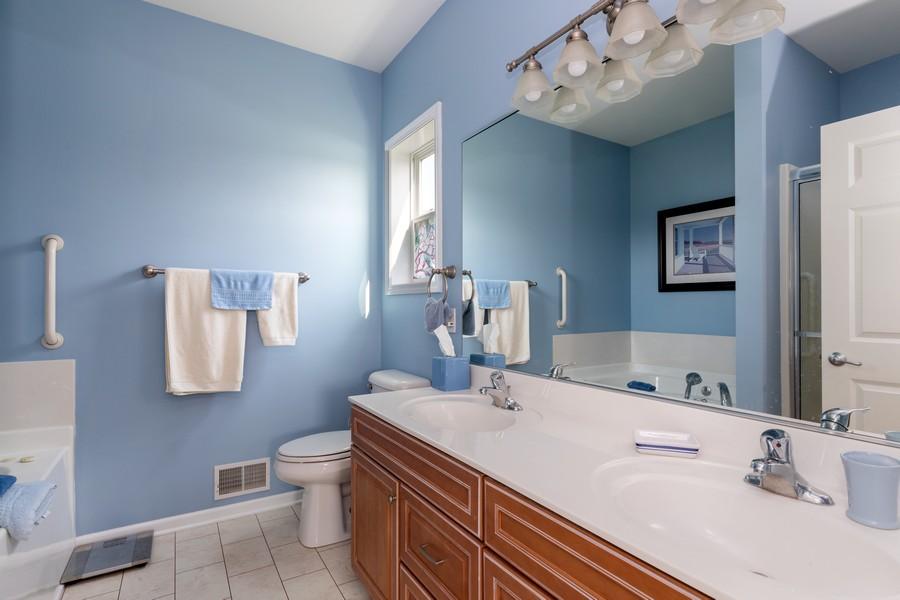 Real Estate Photography - 319 Legacy, Grayslake, IL, 60030 - Master Bathroom