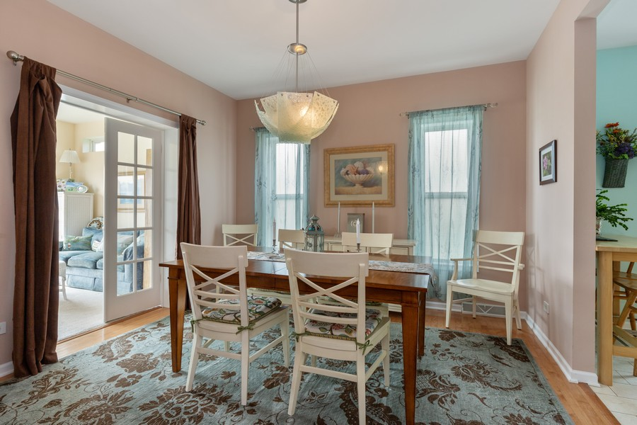 Real Estate Photography - 319 Legacy, Grayslake, IL, 60030 - Dining Room