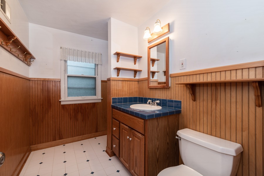 Real Estate Photography - 3504 Meadow Lane, Glenview, IL, 60025 - 2nd Bathroom