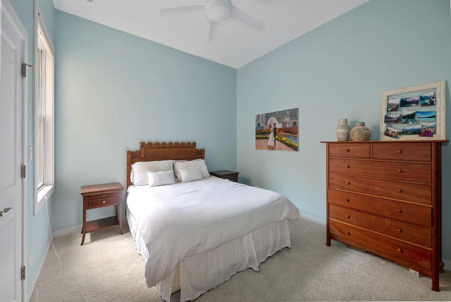 Real Estate Photography - 3432 N. Southport, PH, Chicago, IL, 60657 - Third Bedroom