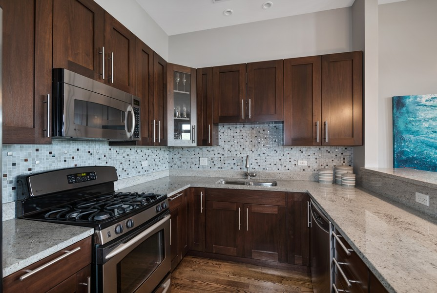 Real Estate Photography - 3432 N. Southport, PH, Chicago, IL, 60657 - Kitchen