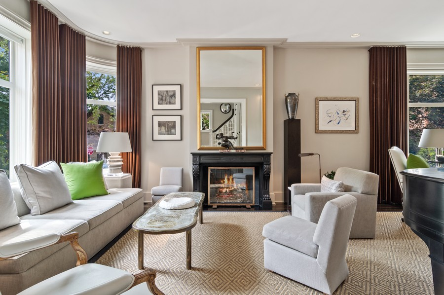 Real Estate Photography - 2156 W Concord Pl., Chicago, IL, 60647 - Living Room