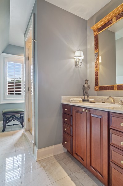 Real Estate Photography - 2156 W Concord Pl., Chicago, IL, 60647 - 3rd Bathroom