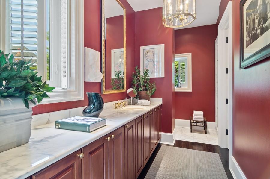 Real Estate Photography - 2156 W Concord Pl., Chicago, IL, 60647 - Master Bathroom