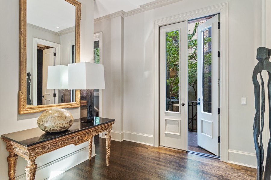 Real Estate Photography - 2156 W Concord Pl., Chicago, IL, 60647 - Foyer