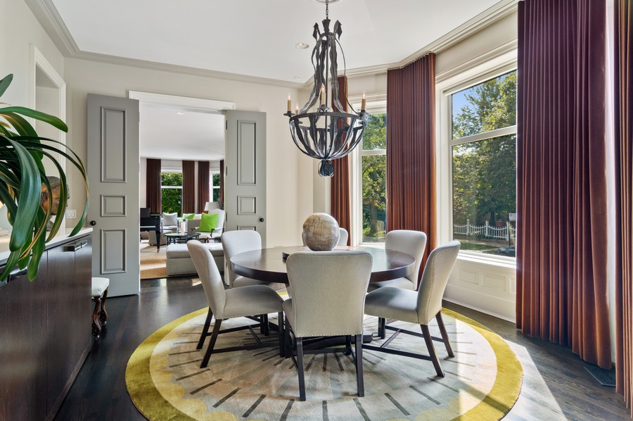 Real Estate Photography - 2156 W Concord Pl., Chicago, IL, 60647 - Dining Room