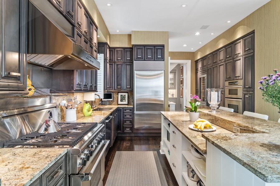 Real Estate Photography - 2156 W Concord Pl., Chicago, IL, 60647 - Kitchen