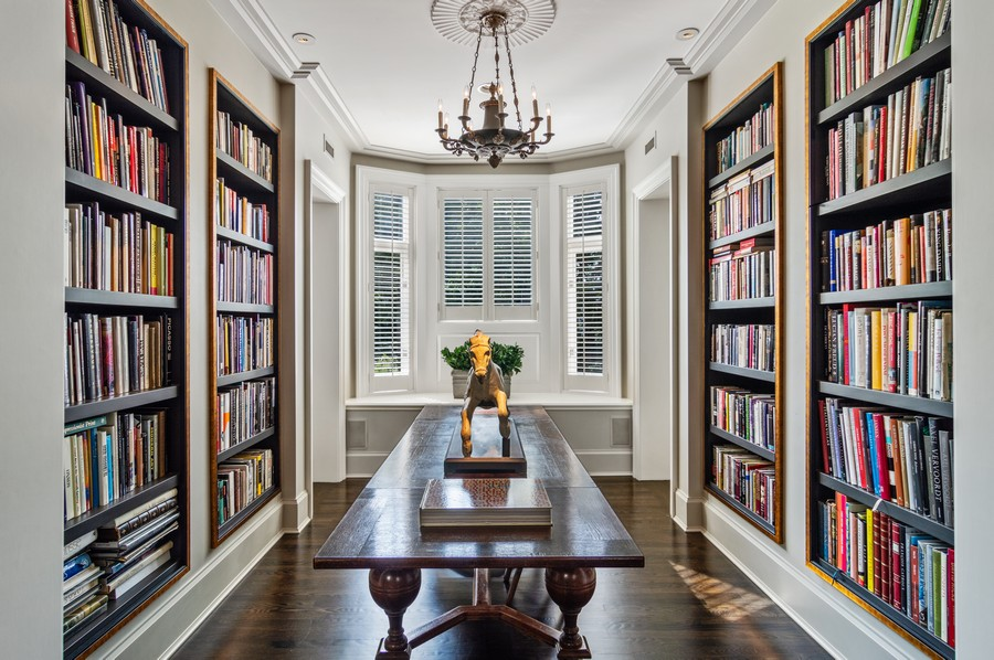 Real Estate Photography - 2156 W Concord Pl., Chicago, IL, 60647 - Library