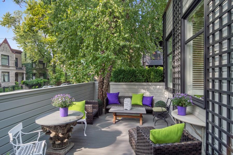 Real Estate Photography - 2156 W Concord Pl., Chicago, IL, 60647 - Porch