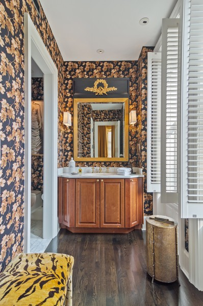 Real Estate Photography - 2156 W Concord Pl., Chicago, IL, 60647 - 2nd Bathroom