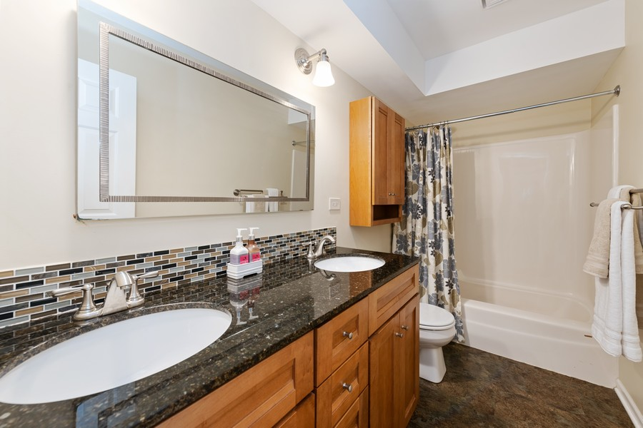 Real Estate Photography - 538 2nd St., Grayslake, IL, 60030 - Master Bathroom
