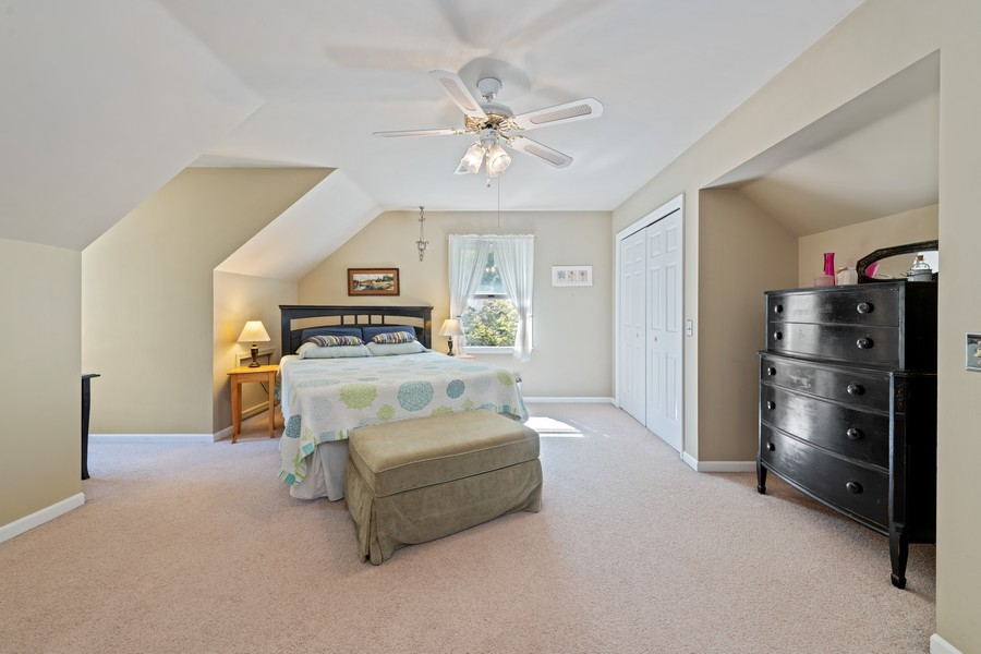 Real Estate Photography - 538 2nd St., Grayslake, IL, 60030 - Master Bedroom