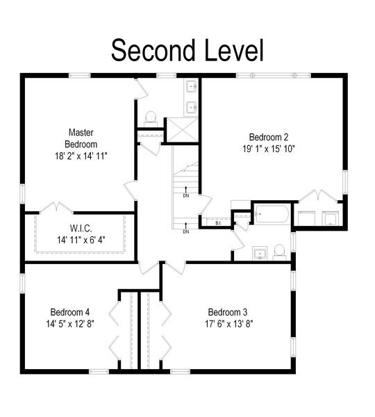Real Estate Photography - 1338 Franklin Ave, River Forest, IL, 60305 - Floor Plan