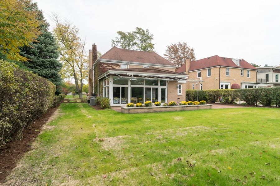 Real Estate Photography - 1338 Franklin Ave, River Forest, IL, 60305 - Rear View