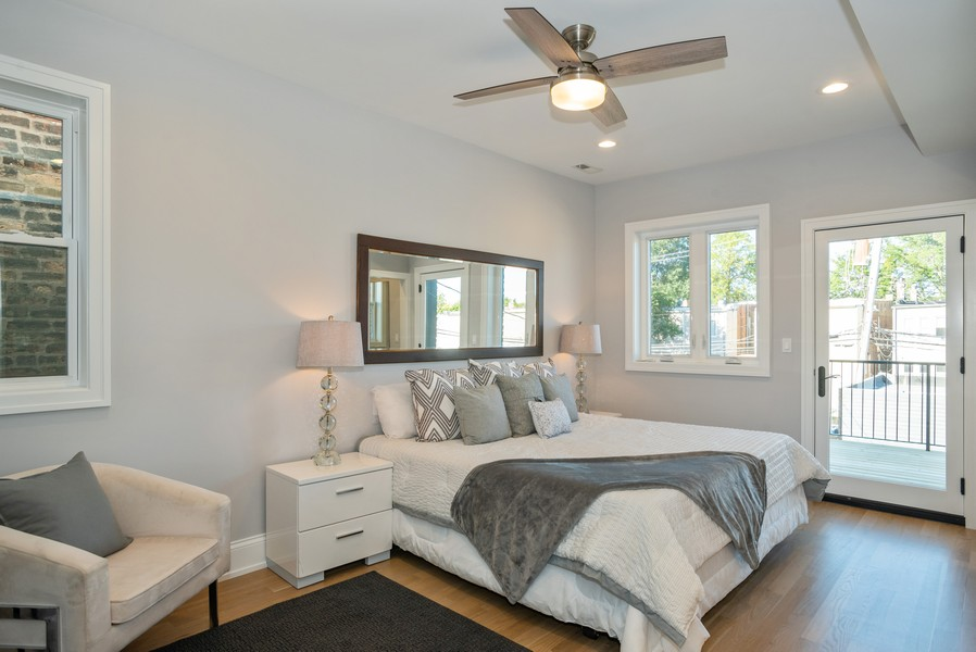 Real Estate Photography - 3622 N Albany Avenue, Chicago, IL, 60618 - Master Bedroom