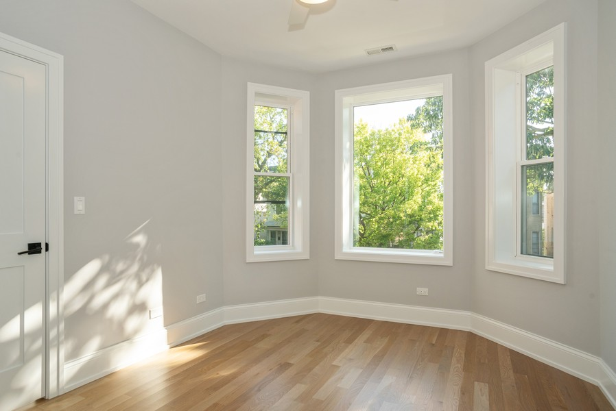 Real Estate Photography - 3622 N Albany Avenue, Chicago, IL, 60618 - 2nd Bedroom
