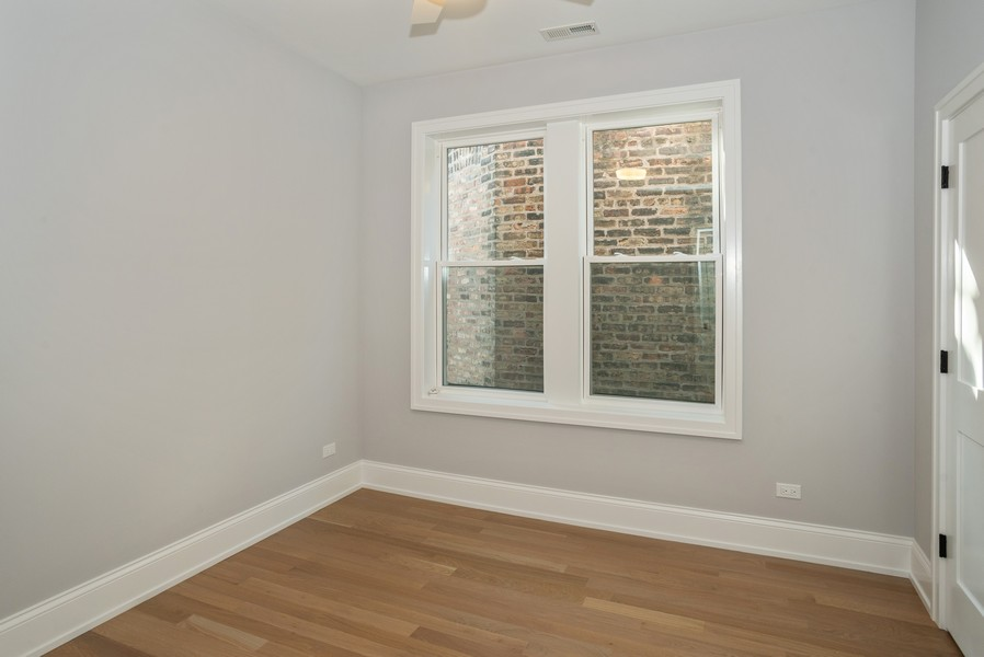 Real Estate Photography - 3622 N Albany Avenue, Chicago, IL, 60618 - 3rd Bedroom