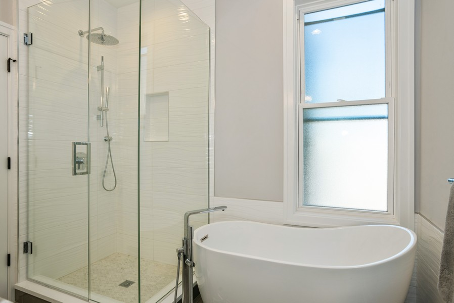 Real Estate Photography - 3622 N Albany Avenue, Chicago, IL, 60618 - Master Bathroom