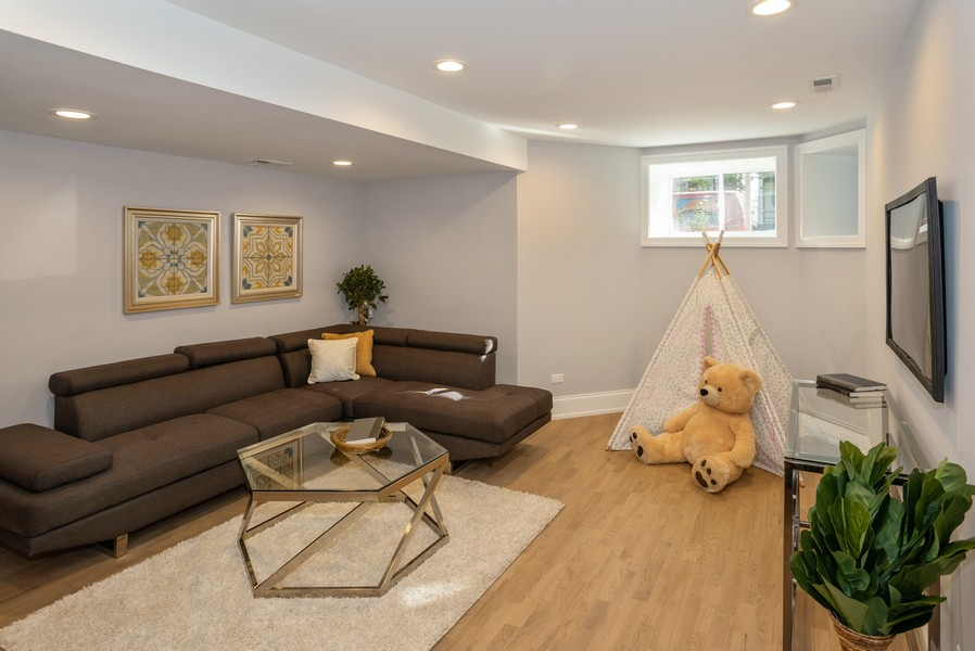 Real Estate Photography - 3622 N Albany Avenue, Chicago, IL, 60618 - Recreation Room