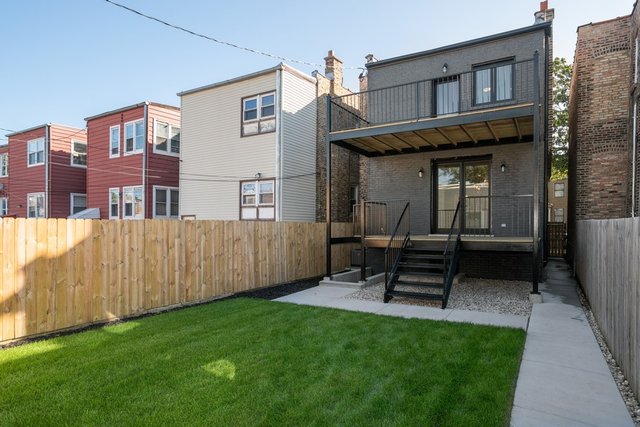 Real Estate Photography - 3622 N Albany Avenue, Chicago, IL, 60618 - Back Yard