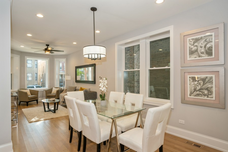 Real Estate Photography - 3622 N Albany Avenue, Chicago, IL, 60618 - Dining Area