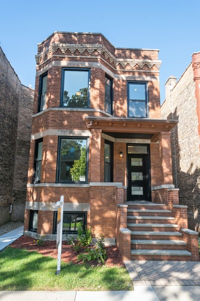 Real Estate Photography - 3622 N Albany Avenue, Chicago, IL, 60618 - Front View