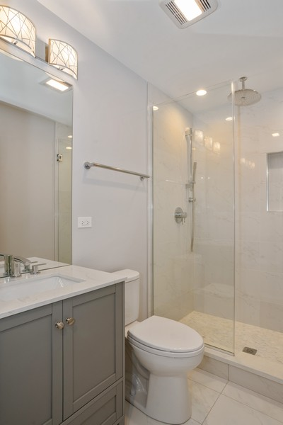 Real Estate Photography - 3622 N Albany Avenue, Chicago, IL, 60618 - Bathroom