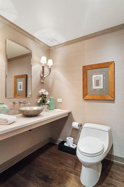 Real Estate Photography - 180 E Pearson St., Apt. 5006, Chicago, IL, 60611 - Half Bath