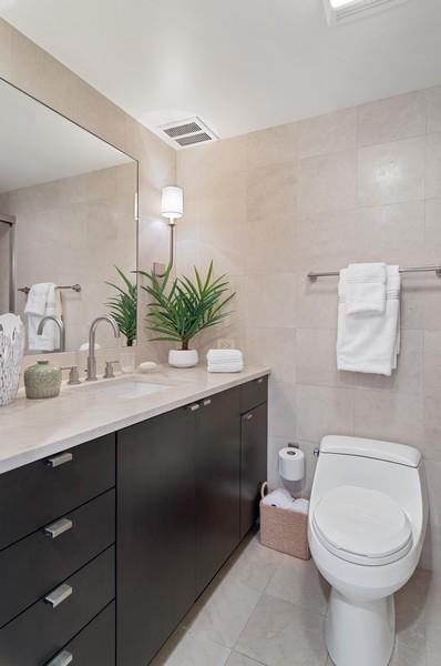 Real Estate Photography - 180 E Pearson St., Apt. 5006, Chicago, IL, 60611 - Bathroom