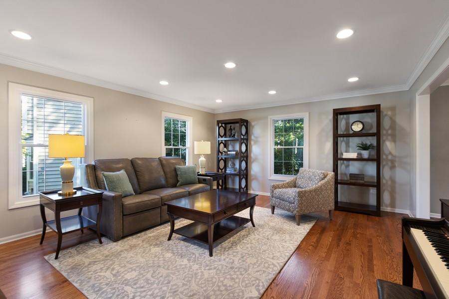 Real Estate Photography - 481 Paul Circle, Barrington, IL, 60010 - Living Room