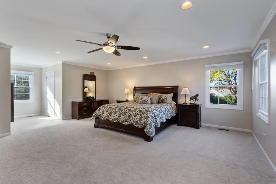 Real Estate Photography - 481 Paul Circle, Barrington, IL, 60010 - Master Bedroom
