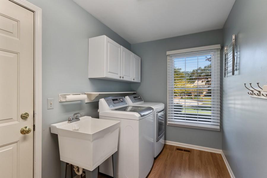 Real Estate Photography - 481 Paul Circle, Barrington, IL, 60010 - Mudroom