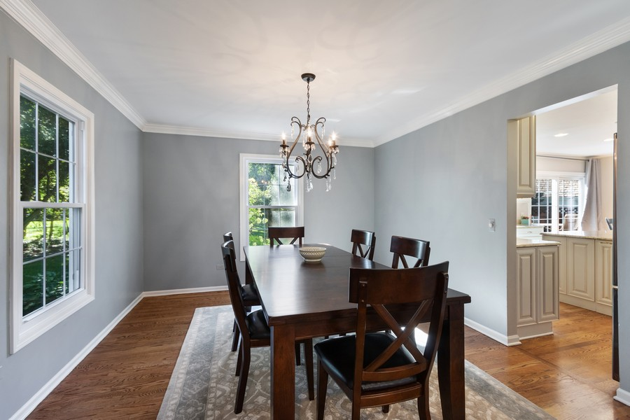 Real Estate Photography - 481 Paul Circle, Barrington, IL, 60010 - Dining Room
