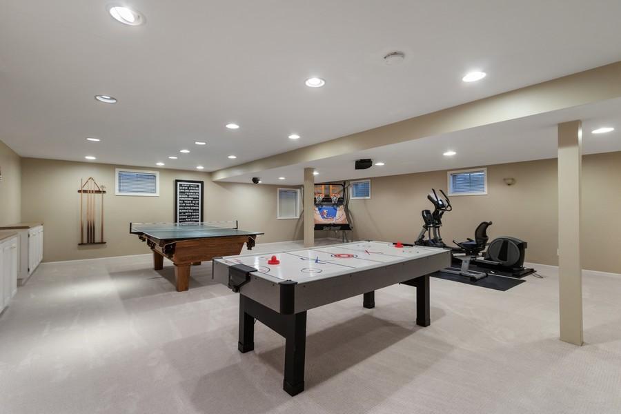 Real Estate Photography - 481 Paul Circle, Barrington, IL, 60010 - Basement