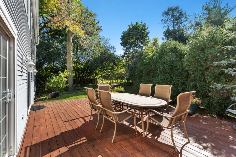 Real Estate Photography - 481 Paul Circle, Barrington, IL, 60010 - Back Yard