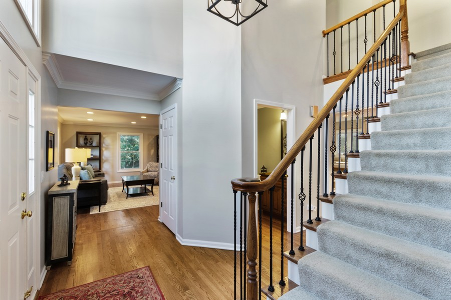 Real Estate Photography - 481 Paul Circle, Barrington, IL, 60010 - Foyer