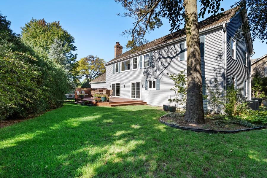 Real Estate Photography - 481 Paul Circle, Barrington, IL, 60010 - Rear View