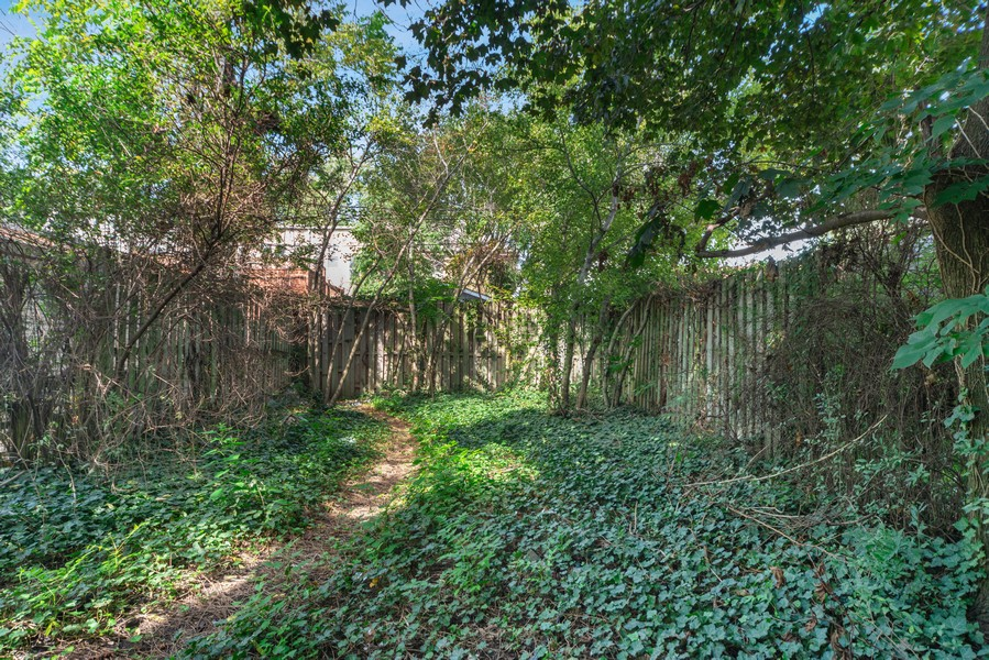 Real Estate Photography - 2418 W. Palmer St., Chicago, IL, 60647 - Back Yard