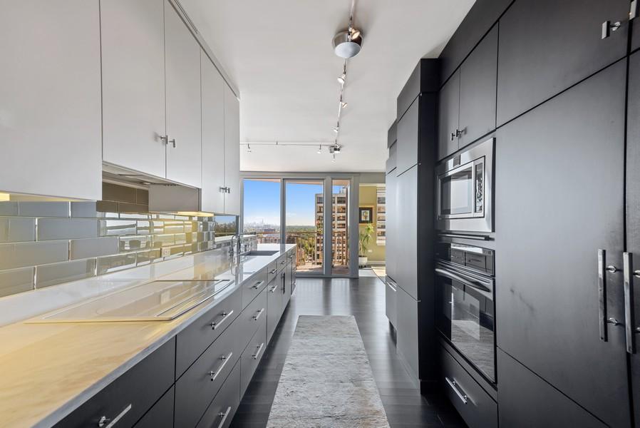 Real Estate Photography - 807 Davis Unit 1705, Evanston, IL, 60201 - Kitchen