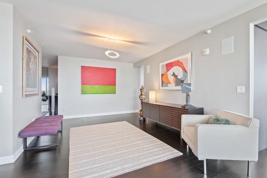 Real Estate Photography - 807 Davis Unit 1705, Evanston, IL, 60201 - Gallery/Sitting Area