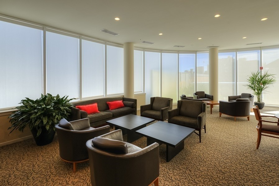 Real Estate Photography - 807 Davis Unit 1705, Evanston, IL, 60201 - Hospitality Room