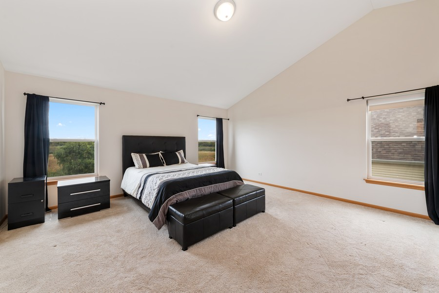 Real Estate Photography - 1435 S Wildmeadow Rd, Round Lake, IL, 60073 - Master Bedroom