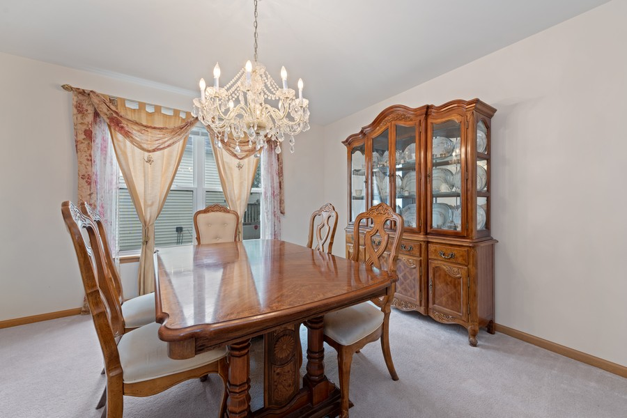Real Estate Photography - 1435 S Wildmeadow Rd, Round Lake, IL, 60073 - Dining Room