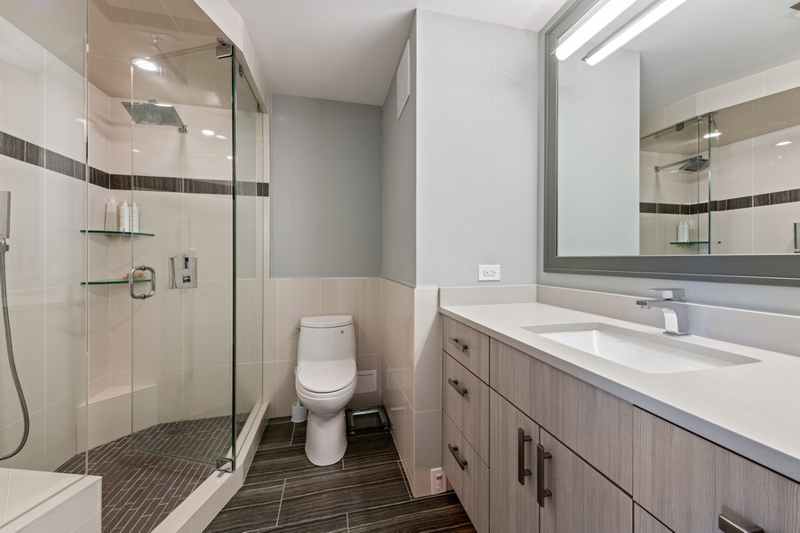 Real Estate Photography - 505 N Lake Shore Drive, #907, Chicago, IL, 60611 - Bathroom