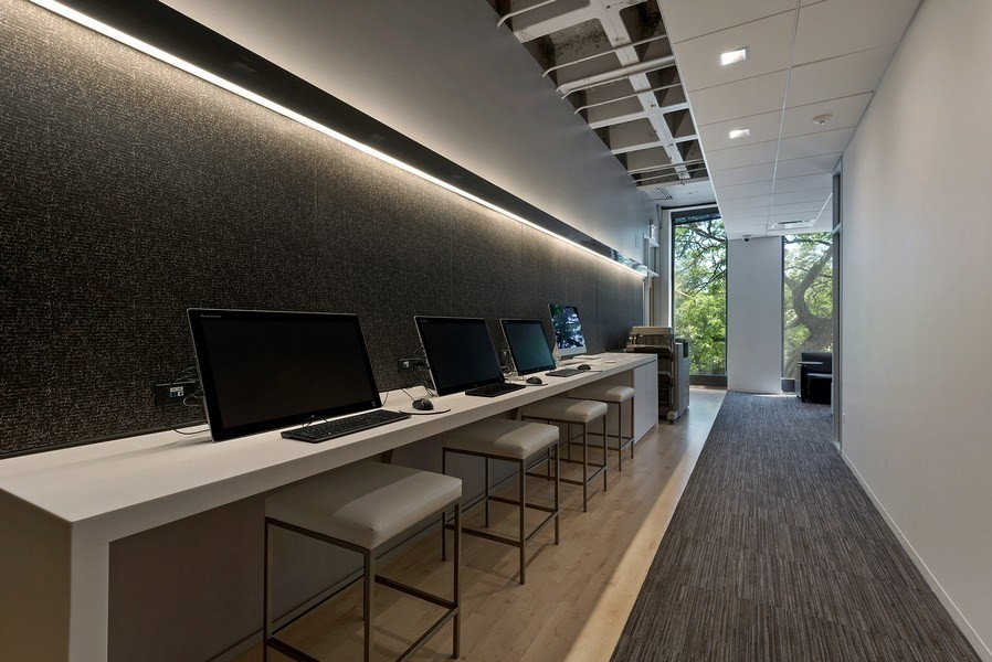 Real Estate Photography - 505 N Lake Shore Drive, #907, Chicago, IL, 60611 - Business Center